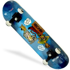 Skate Montado Kronik 8.0 Scooby Doo Blue