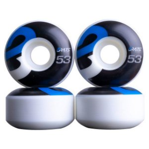 Roda Brats Wheels Black 53mm 101A ( jogo 4 rodas )