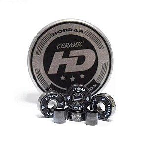 Rolamento Hondar Ceramic Preto Original Importado