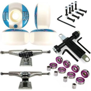 Truck Brutus 139mm + Roda Next ll 53mm + Chave + Abec 7 + Parafusos