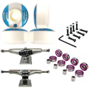 Truck Brutus 139mm + Roda Next ll 53mm + Abec 7 + Parafusos