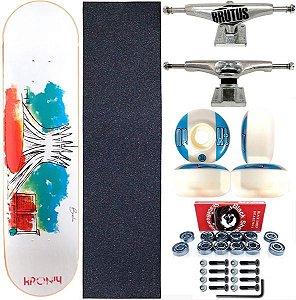 Skate Completo Shape 8.0 Kronik Art Aquarela