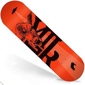 Shape Maple Milk Skate Importado 8.0 Beto Janz Orange (Grátis Lixa Importada)