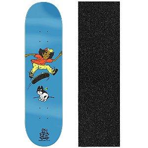 Shape de Skate Profissional Wood Ligth Insane Bulldog 8.0 (Lixa de Brinde)