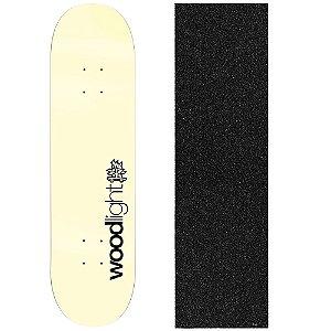 Shape de Skate Profissional Wood Ligth Basic Clear 8.0 (Lixa de Brinde)