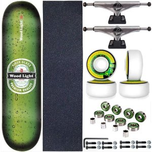 Skate Completo Shape Wood Light 8.0 Premium + Truck This Way