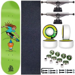 Skate Completo Shape Wood Ligth 8.0 Gnome + Truck ThisWhay