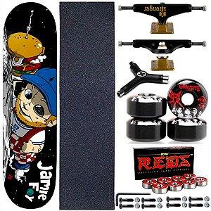 Skate Completo Deathwish Jamie Foy Big Boy Space 8.0 + Bones + Stronger