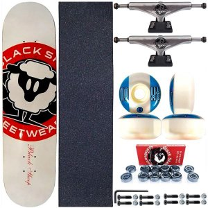 Skate Completo Shape Black Sheep White 8.0 + Truck ThisWhay