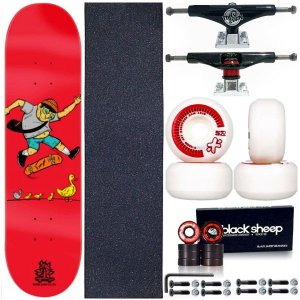 Skate Completo Shape Wood Ligth 8.0 Duck Family + Truck ThisWhay