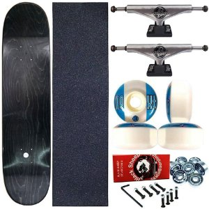 Skate Completo Profissional Maple Liso 8.0 + Truck ThisWay 139mm