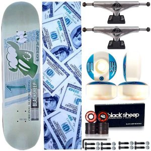 Skate Completo Profissional BS Maple Real 8.0 + Truck This Way 139mm