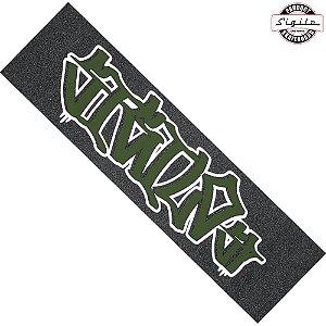 Lixa Para Skate SIgilo Skateboard SP Verde