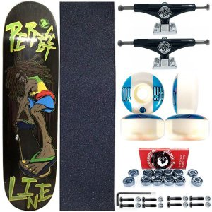Skate Completo Shape Perfect Line 8.0 Reggae + Truck ThisWhay