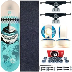 Skate Profissional This Way Shark 8.0 + Truck 139mm This Way