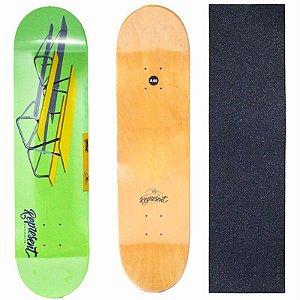 Shape Profissional Represent Skate Green 8.0 (Grátis Lixa)