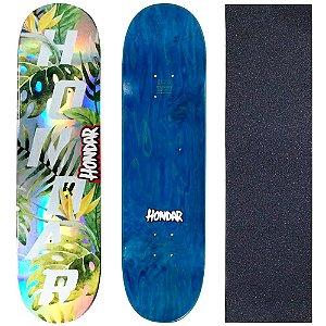 Shape Maple Skate Profissional Hondar Foil 8.50 Nature ( Grátis Lixa Importada )