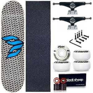 Skate Profissional Completo Shape Cisco Logo Blue 8.0 + Truck This Way