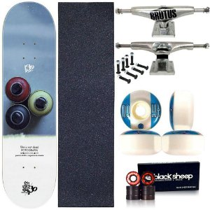 Skate Profissional Completo Shape Wood Light 8.0 Collab IsoSpray