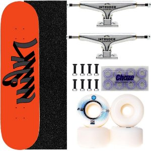 Skate Completo Maple Milk Skate Orange 8.0 + Truck Intruder