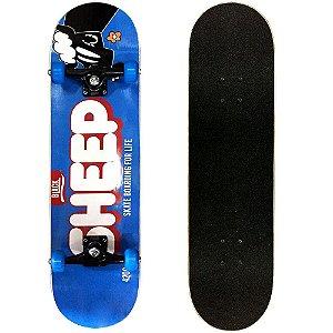 Skate Montado Black Sheep Semi Profissional 8.0 Lolo