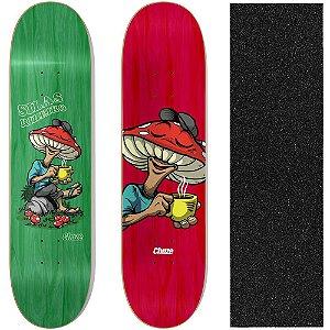 Shape Maple Chaze Skate Importado Melow Silas Ribeiro 8.0 (Grátis Lixa Importada)