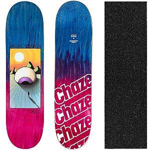 Shape Maple Chaze Skate Importado Distopia Silas Ribeiro 8.0 (Grátis Lixa Importada)