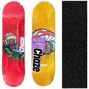 Shape Maple Chaze Skate Importado Melow Alex Carolino 8.0 (Grátis Lixa Importada)