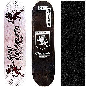 Shape Profissional Maple Skate Nineclouds Gian Naccarato 8.0 (Grátis Lixa Importada)