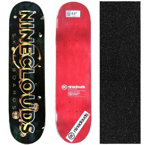 Shape Profissional Maple Skate Nineclouds 8.0 Space (Grátis Lixa Importada)