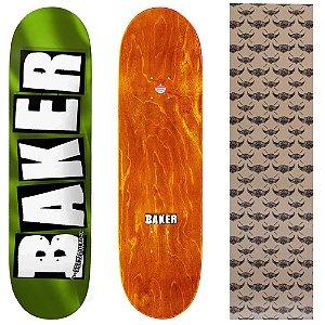 Shape Importado Baker Brand 8.0 Foil Verde (Grátis lixa Jessup)