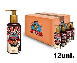 CAIXA COM 12 -  Shaving Gel De Barbear Mentol Batalha dos Barbeiros - 120ml
