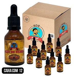 CAIXA COM 12 - Óleo de Barba 30mL