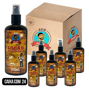 CAIXA COM 24 - Loção Pós Barba 250mL