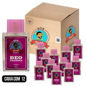 CAIXA COM 12 - DEO COLÔNIA FEMININA BDB