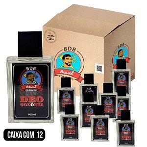 CAIXA COM 12 - DEO COLÔNIA MASCULINA BDB