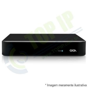 DVR Stand Alone 16 Canais Giga OPEN 5 em 1 (AHD, HDCVI, HDTVI e ANALÓGICO) GS16OPENHD