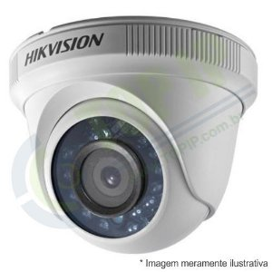 Câmera Infra Dome HIKVISION 720p 4 em 1 2,8mm (AHD, HDCVI, HDTVI e ANALÓGICA)