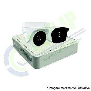 Kit CFTV 2 Câmeras (1dome + 1 canhão) Anko + Dvr Stand Alone Hilook