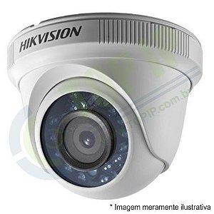Câmera Infra Dome HIKVISION 1080p 4 em 1 2,8mm (AHD, HDCVI, HDTVI e ANALÓGICA)
