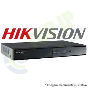DVR Stand Alone 16 Canais HIKVISION 1080p 5 em 1 (AHD, HDCVI, HDTVI, IP e ANALÓGICO)
