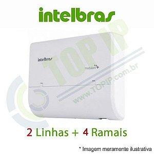 Central Telefônica INTELBRAS MODULARE+ 2X4