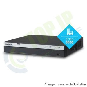 DVR Stand Alone 8 Canais INTELBRAS 3008 MULTI-HD