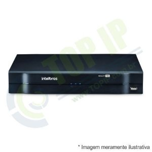 DVR Stand Alone 4 Canais INTELBRAS HDCVI MHDX 1004 MULTI HD