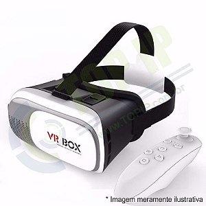Óculos VR Box 2.0 Realidade Virtual 3d com Controle