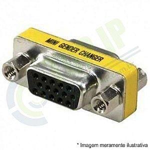 Conector Emenda VGA