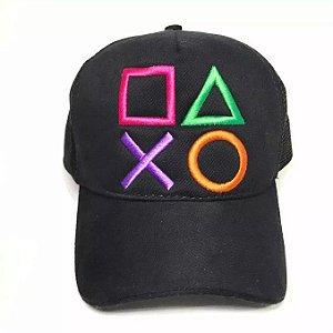 (Pré Venda) Boné estampa personalizada Botões PS4