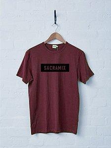 Camiseta Sacramix Verde Militar e Vinho