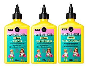 Kit Lola Kids Camomilinha - 3 Produtos