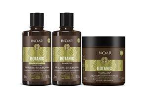 Kit Inoar Botanic - Shampoo, Condicionador e Máscara